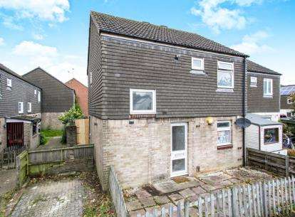 2 Bedrooms Semi Detached House for sale in Townsend, Bournemouth, Dorset