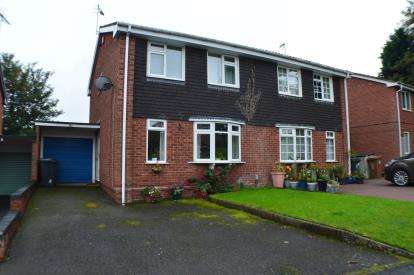 3 Bedrooms Semi Detached House for sale in Francis Road, Lichfield, Staffordshire