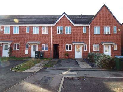 2 Bedrooms Terraced House for sale in Dunster Place, Coventry, West Midlands