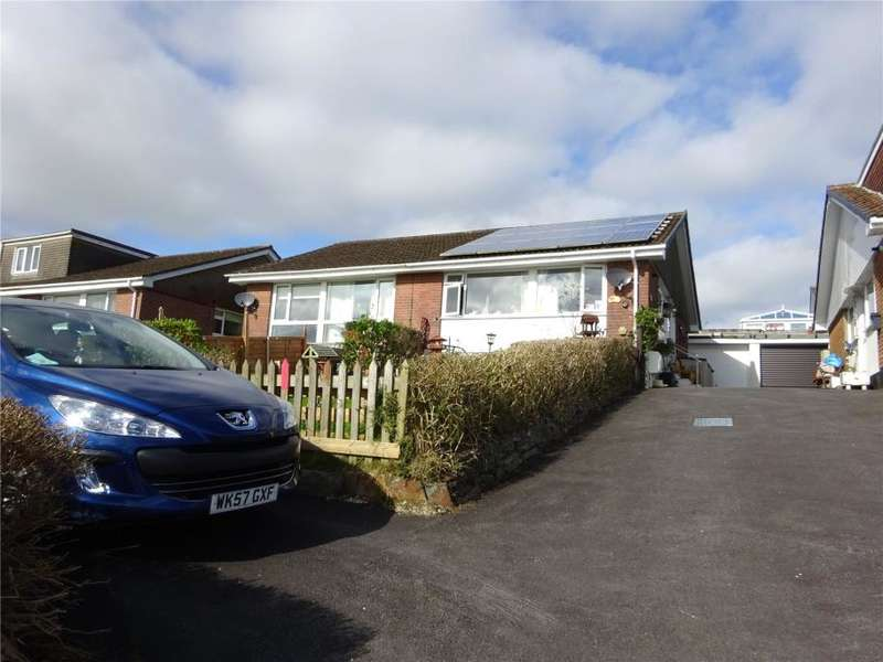 2 Bedrooms Semi Detached Bungalow for sale in Glen Park, Pensilva, Cornwall