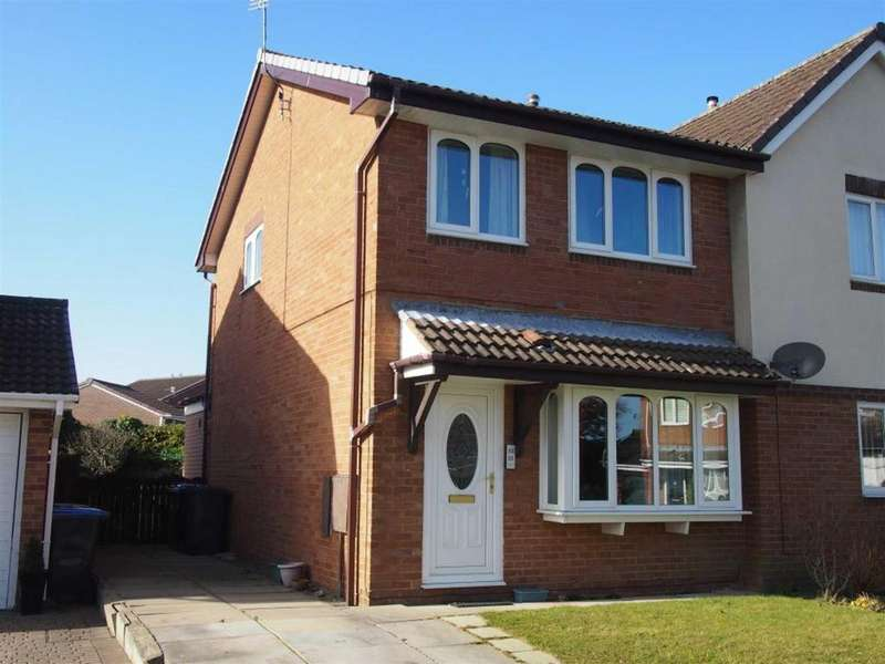 3 Bedrooms Semi Detached House for sale in Alnwick Grove, Woodham, Newton Aycliffe