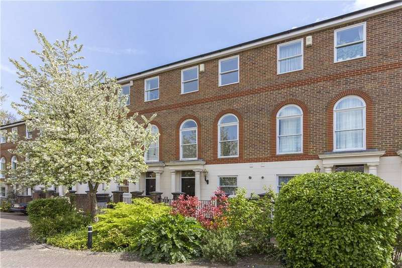 4 Bedrooms Terraced House for sale in King George Square, Richmond, TW10