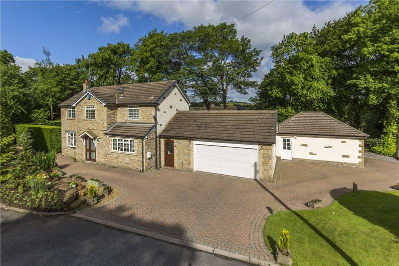 4 Bedrooms Detached House for sale in Woodside Court, Cullingworth, West Yorkshire