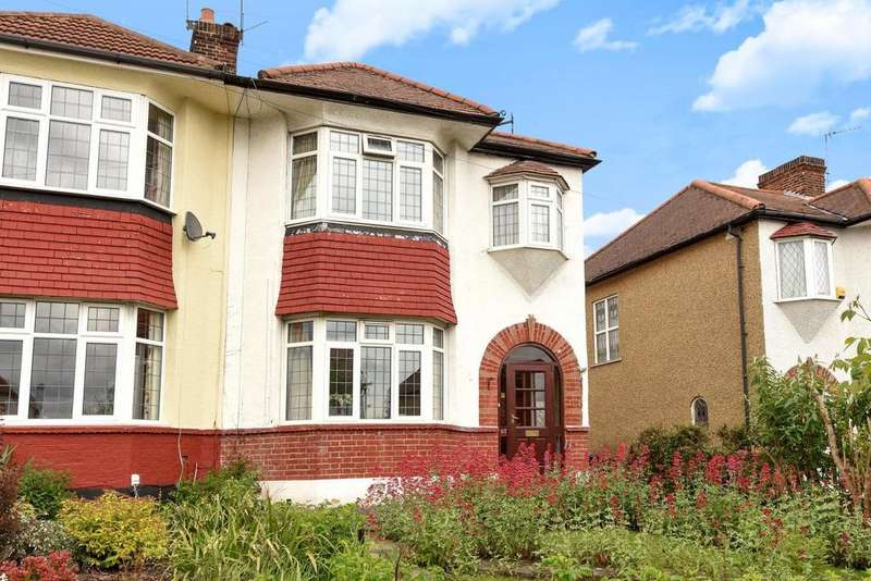 3 Bedrooms Semi Detached House for sale in Ashridge Gardens, Palmers Green