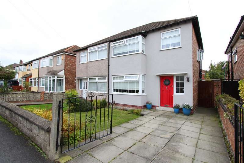 3 Bedrooms Semi Detached House for sale in Norbreck Avenue, Swanside, Liverpool