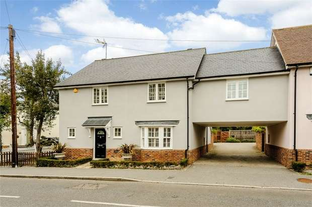 4 Bedrooms Semi Detached House for sale in The Street, High Easter, Chelmsford, Essex