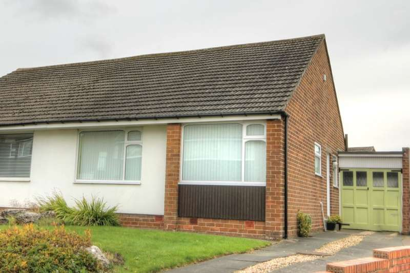 2 Bedrooms Semi Detached Bungalow for sale in Bracknell Gardens, Chapel House, Newcastle Upon Tyne, NE5