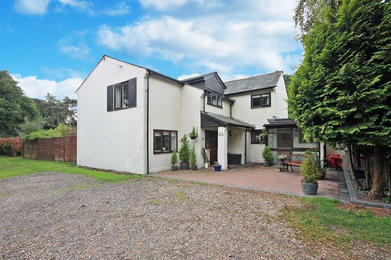 5 Bedrooms Detached House for sale in Pithouse Lane, Hurn, Christchurch