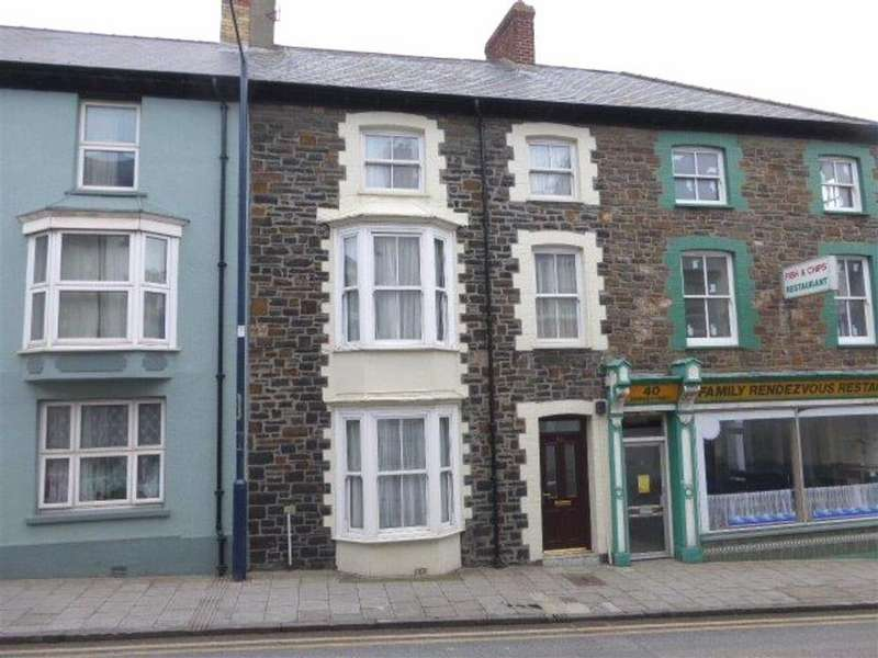4 Bedrooms Terraced House for sale in 38, Bridge Street, Aberystwyth, Ceredigion, SY23