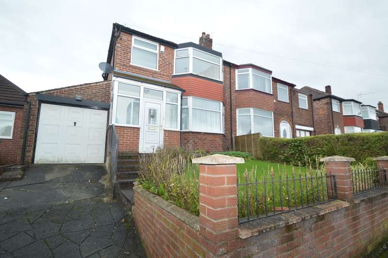 3 Bedrooms Semi Detached House for sale in Sheepfoot Lane, Prestwich, Manchester, M25