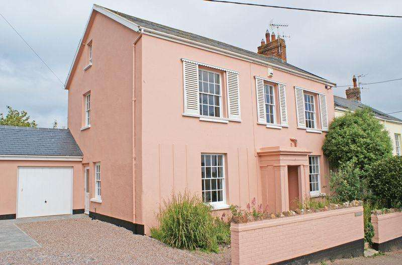 4 Bedrooms Semi Detached House for sale in Victoria Place, Budleigh Salterton