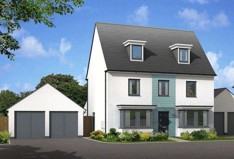 5 Bedrooms Detached House for sale in The Emerson Ogmore-by-Sea Vale of Glamorgan CF32 0PZ