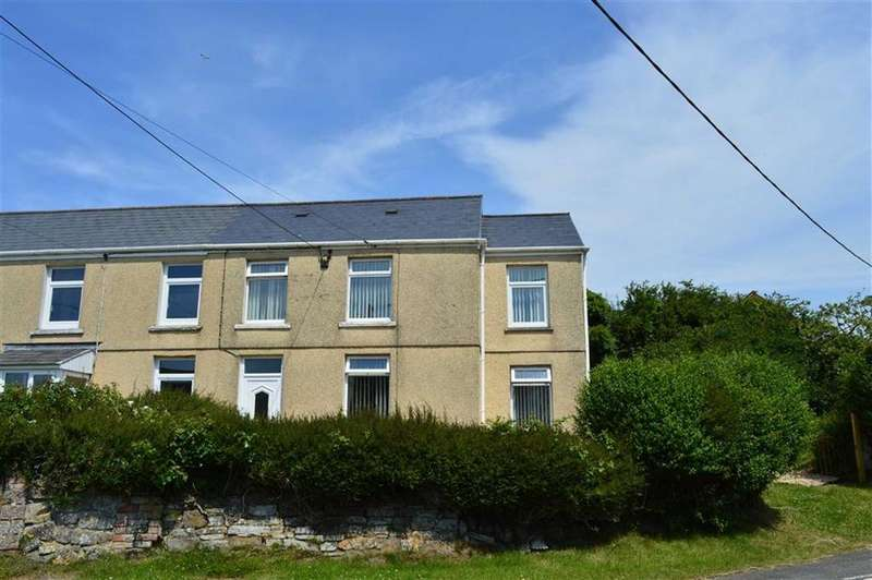 4 Bedrooms End Of Terrace House for sale in Chapel Road, Crofty, Swansea