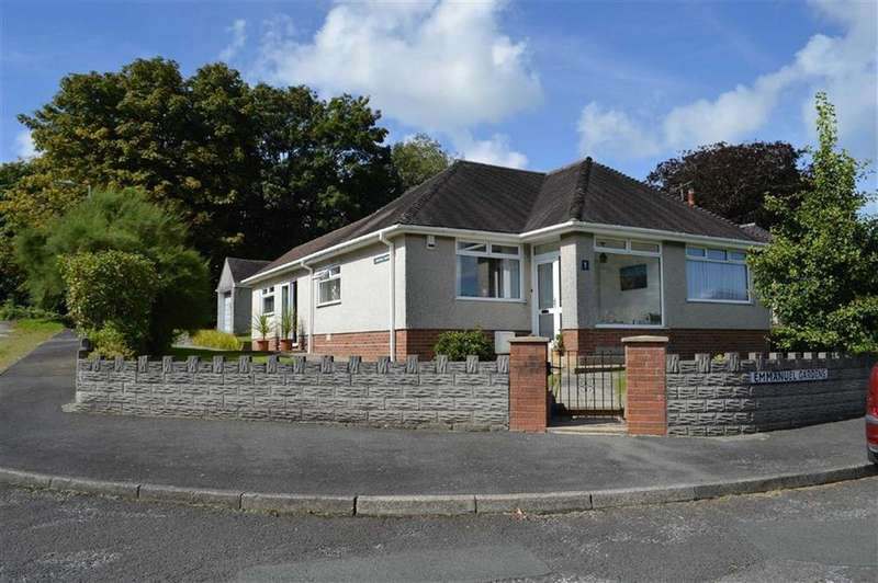 3 Bedrooms Detached Bungalow for sale in Emmanuel Gardens, Swansea, SA2