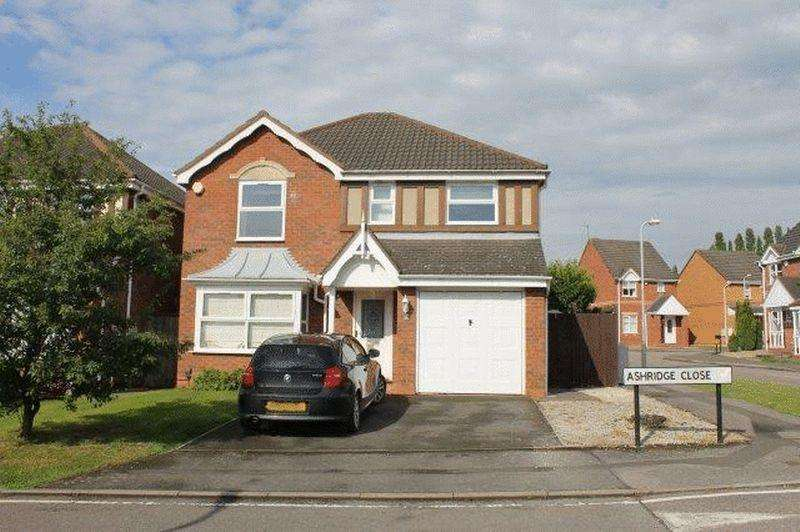 4 Bedrooms Detached House for sale in Ashridge Close, Nuneaton