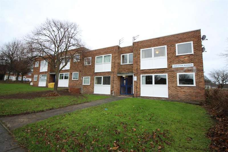 2 Bedrooms Flat for sale in Cragston Avenue, Newcastle Upon Tyne