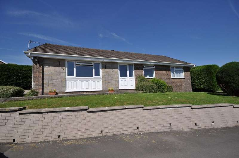 3 Bedrooms Detached Bungalow for sale in 8 Parc Y Onnen, Carmarthen, SA31 1ED