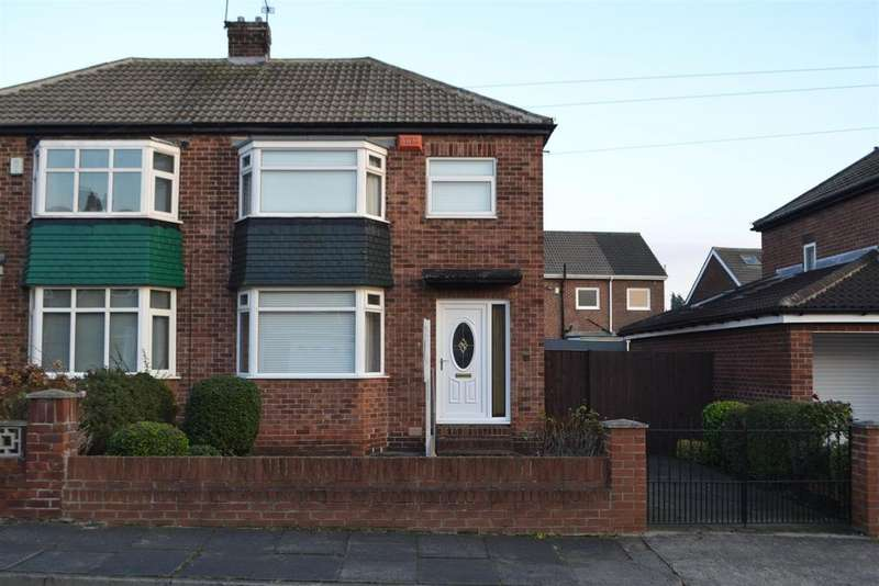 3 Bedrooms Semi Detached House for sale in North Hall Road, Sunderland