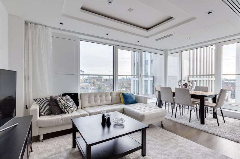 2 Bedrooms Flat for sale in Radnor Terrace, Kensington, London