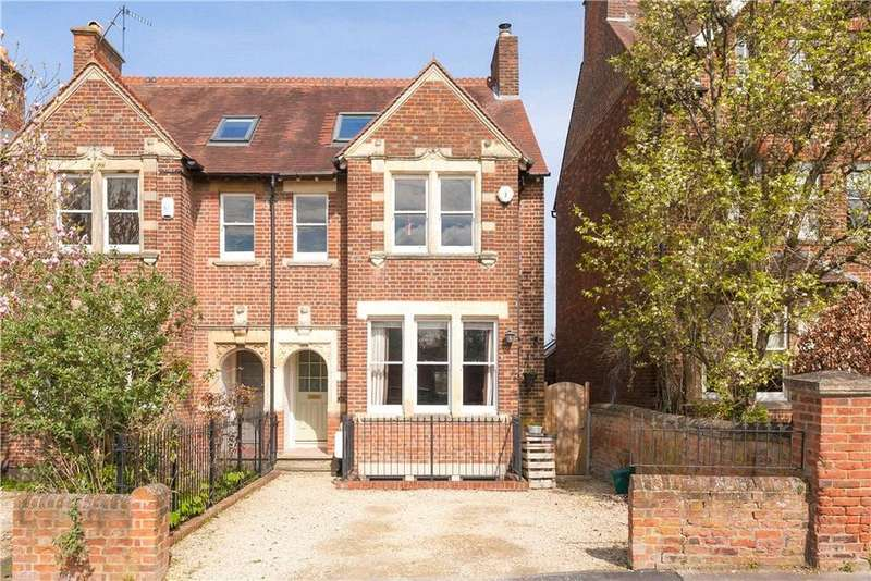 5 Bedrooms Semi Detached House for sale in Frenchay Road, Oxford, Oxfordshire, OX2