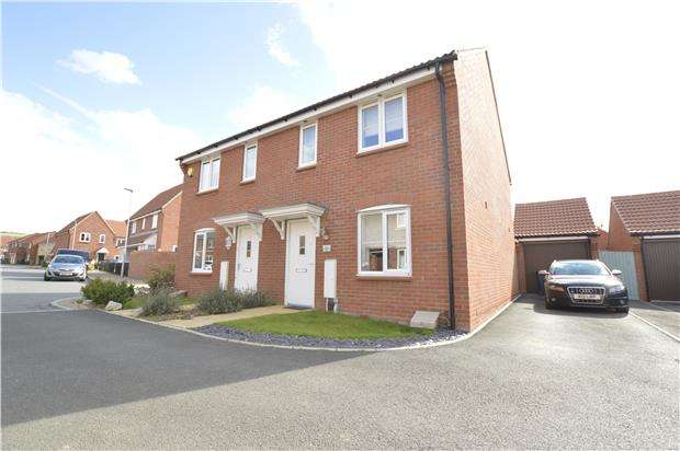 3 Bedrooms Semi Detached House for sale in Tawny Close, Bishops Cleeve, Cheltenham, Glos, GL52 8GX