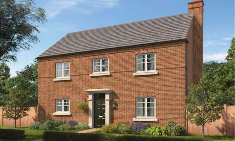 4 Bedrooms Detached House for sale in The Moreton at The Forge, Brades Rise, Oldbury