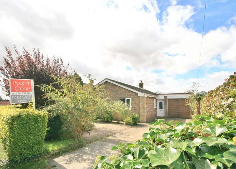3 Bedrooms Detached Bungalow for sale in Ancaster Lane, Oasby, NG32