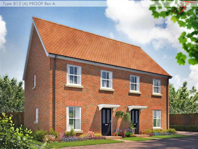 2 Bedrooms Semi Detached House for sale in Richmond Park, Whitfield, Dover, Kent