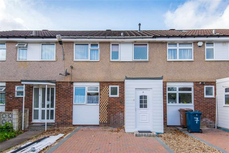 3 Bedrooms Terraced House for sale in Alcuin Court, Old Church Lane, Stanmore, HA7