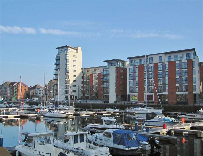 2 Bedrooms Flat for sale in Meridian Wharf, Maritime Quarter, SWANSEA