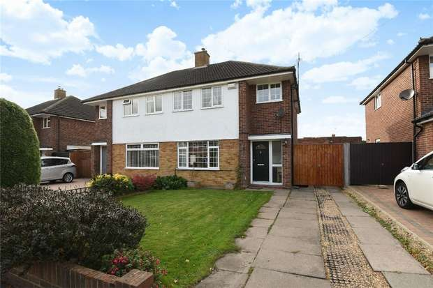 3 Bedrooms Semi Detached House for sale in Larkway, Bedford