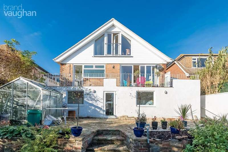4 Bedrooms Detached House for sale in Rodmell Avenue, Saltdean, Brighton, BN2