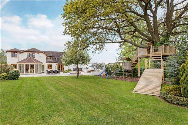 6 Bedrooms Detached House for sale in Half Acre, Badgeworth Lane, Badgeworth, CHELTENHAM, Gloucestershire, GL51 4UJ