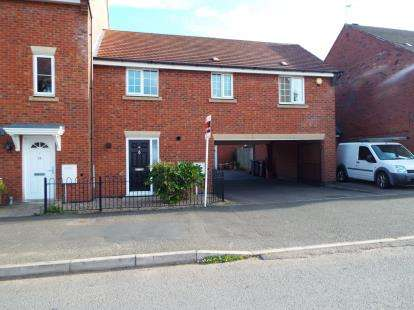 2 Bedrooms Maisonette Flat for sale in Hornbeam Way, Kirkby-in-Ashfield, Nottingham