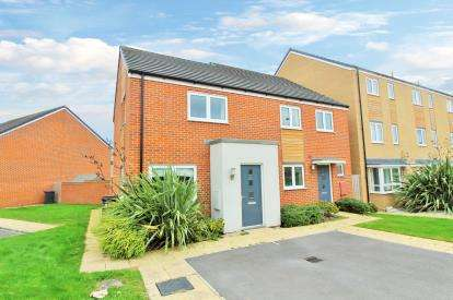 2 Bedrooms Semi Detached House for sale in Skinners Croft, Patchway, Bristol