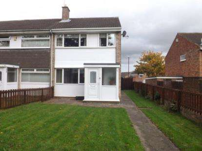 3 Bedrooms End Of Terrace House for sale in Skirlaw Close, Washington, Tyne and Wear, NE38