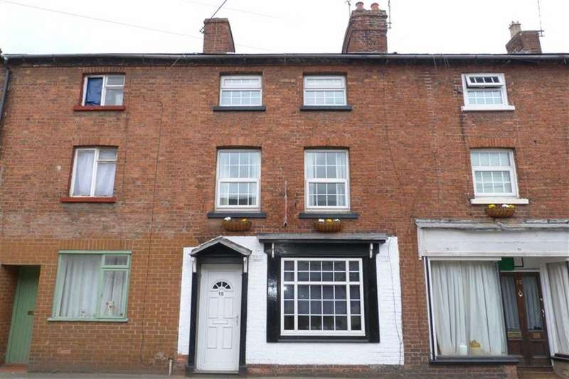 3 Bedrooms Terraced House for sale in Upper Church Street, Oswestry, SY11