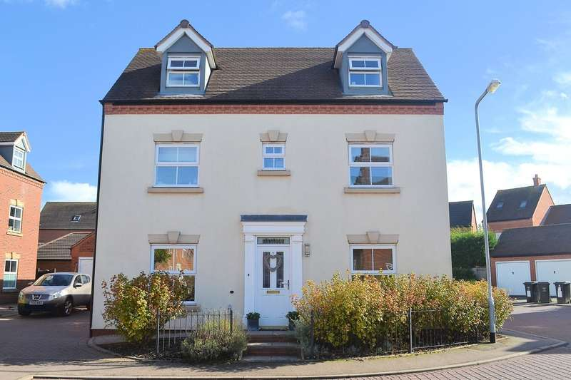 4 Bedrooms Detached House for sale in Colling Drive, Lichfield