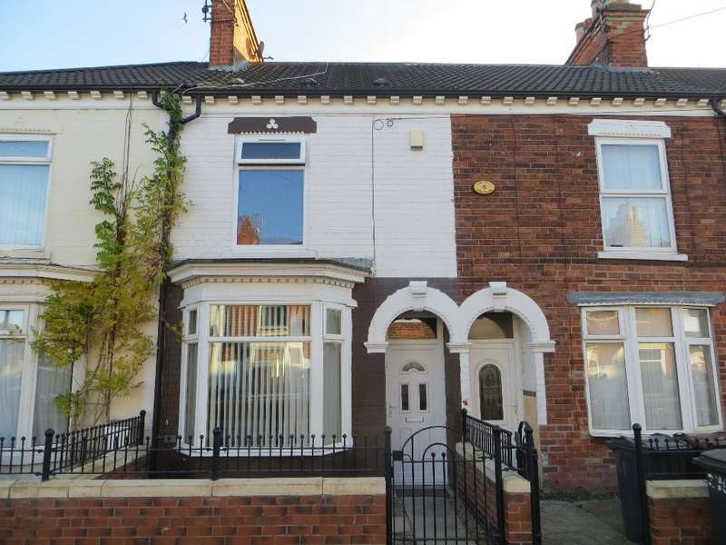 3 Bedrooms Terraced House for sale in Alliance Avenue, Hull, HU3 6QZ