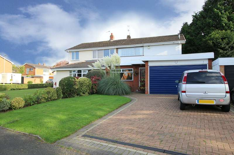 3 Bedrooms Semi Detached House for sale in Portland Drive, Pedmore, Stourbridge, DY9