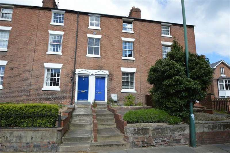 4 Bedrooms Terraced House for sale in 80, Belle Vue Road, Shrewsbury, SY3