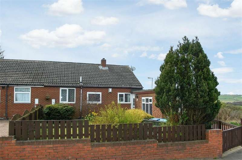 2 Bedrooms Semi Detached Bungalow for sale in Pea Road, Stanley, County Durham