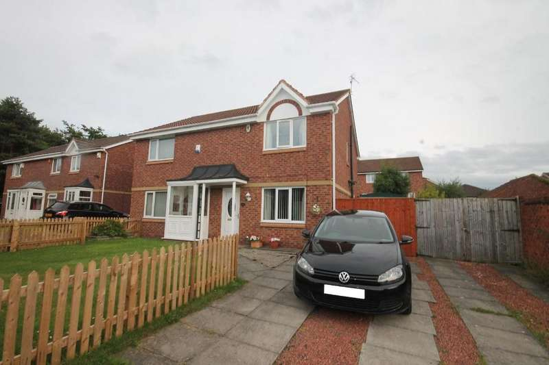3 Bedrooms Semi Detached House for sale in Lynmouth Close, Hemlington