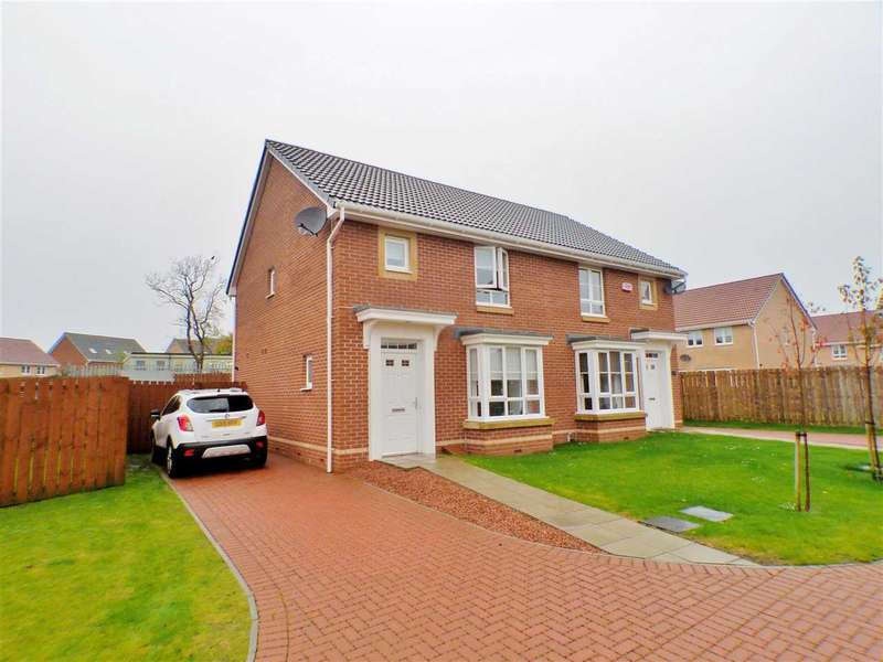 3 Bedrooms Semi Detached House for sale in Jasmine Avenue, Ballerup Village, EAST KILBRIDE