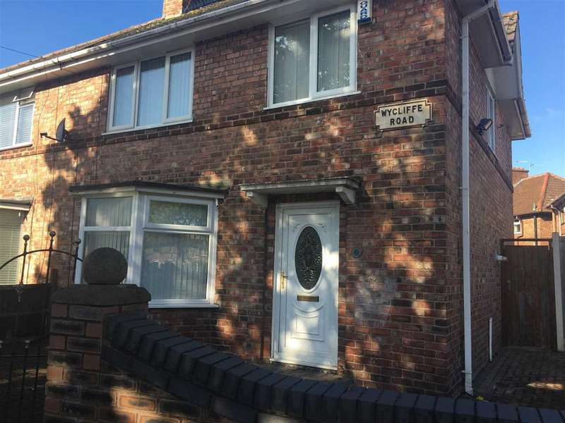 3 Bedrooms Semi Detached House for sale in Wycliffe Road, Anfield, Liverpool