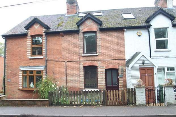 3 Bedrooms Cottage House for sale in Belmont Cottages, Gole Road, Pirbright, WOKING, Surrey