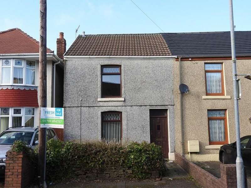 2 Bedrooms Terraced House for sale in Roger Street, Treboeth, Swansea, SA5
