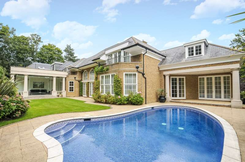 6 Bedrooms Detached House for rent in Weybridge