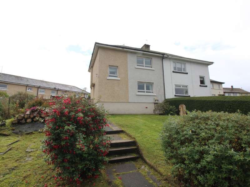 3 Bedrooms Semi Detached House for sale in 25 Burnside Avenue, Port Glasgow, PA14 6PN