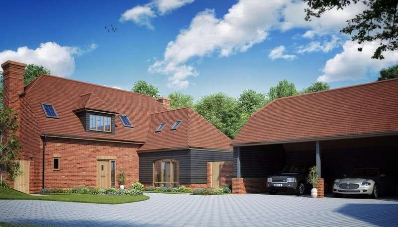 5 Bedrooms Detached House for sale in Plot 1 The Martlets,, Hellingly, East Sussex, BN27